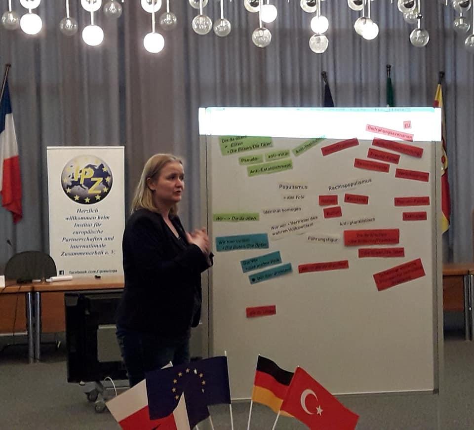 Netzwerktreffen am 5.4.2019 in Bergkamen, Referentin Marijke Mulder