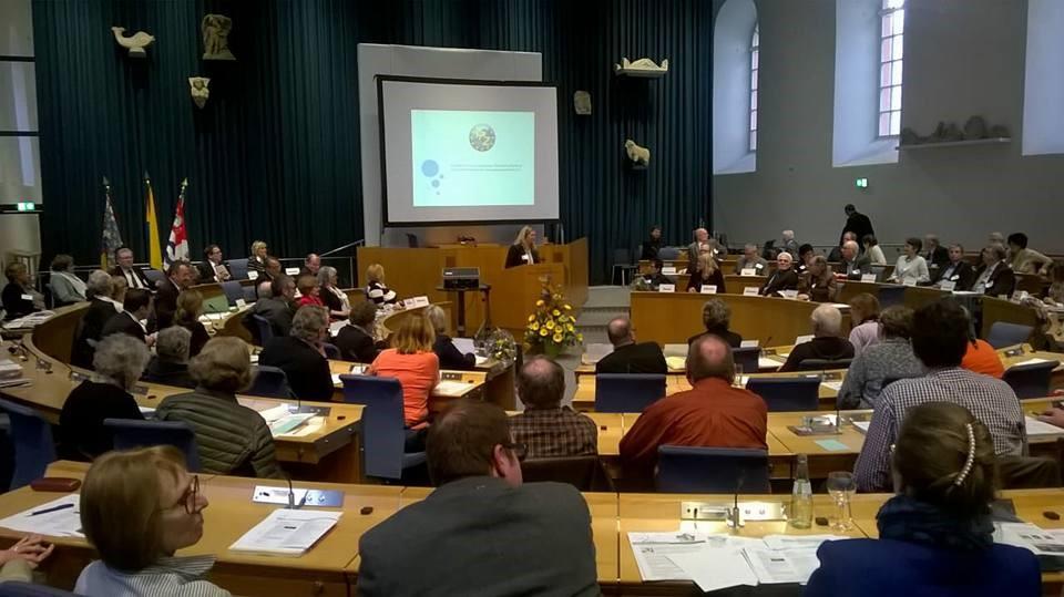 Vorstellung des IPZ e.V. im Rahmen der Jahrestagung des 4-er-Netzwerks Rheinland-Pfalz, 16. März 2018 (Rednerin: Anna Noddeland)