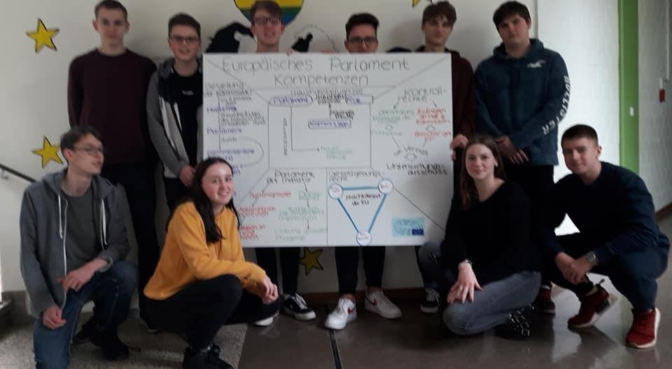 Jugendworkshop am Silverberg-Gymnasium Bedburg, Mai 2019