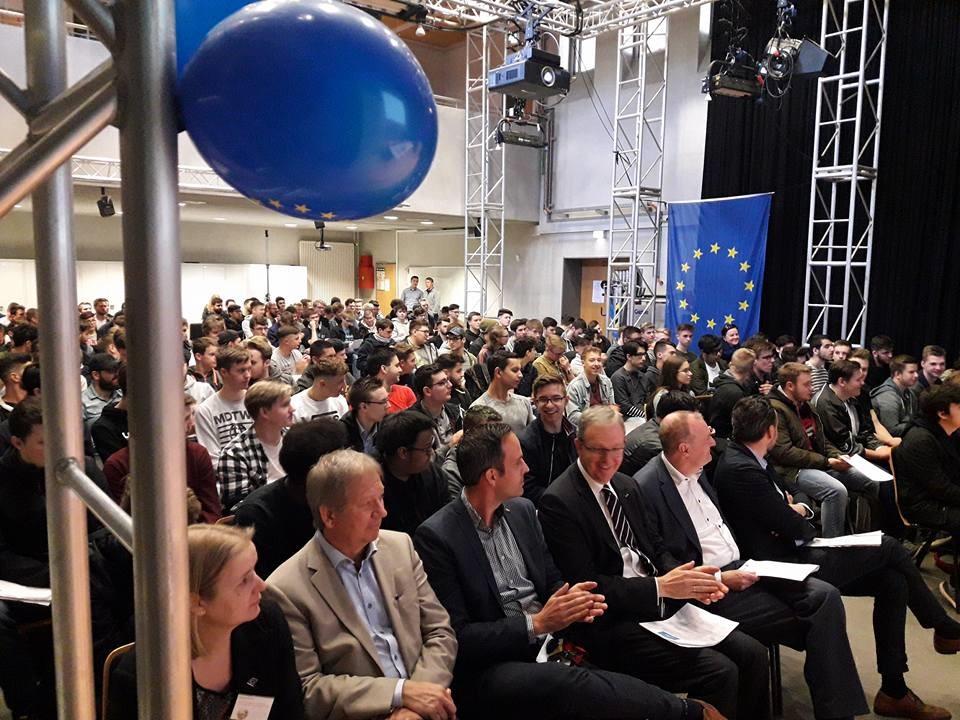 Europatag für junge Leute am Georg-Simon-Ohm-Berufskolleg, 4. Mai 2018
