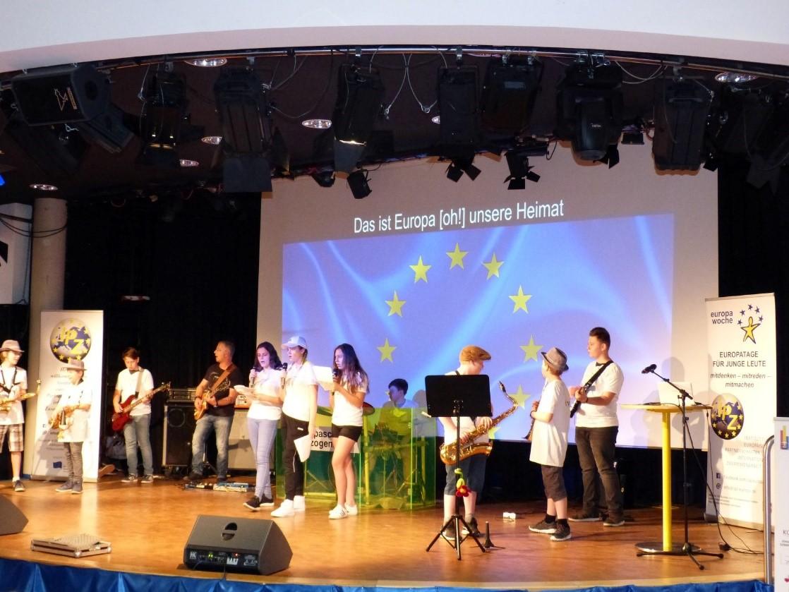 Europatag für junge Leute an der Europaschule Herzogenrath, 14. Mai 2018